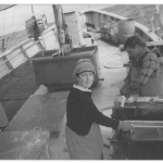 Field research at sea