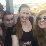 LYN McCREDDEN, ANN VICKERY, KARI LYON, and CASSANDRA ATHERTON in VENICE 2019