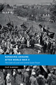 Cover of Remaking Ukraine